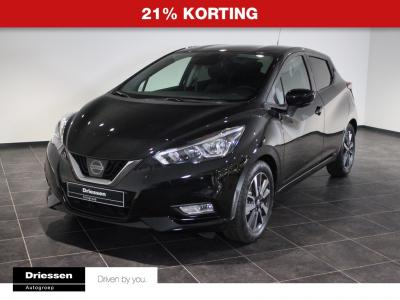 Nissan Micra 0.9 IG-T N-Connecta 21% KORTING (Rijklaar - Techpack - Int. Pack Orange)