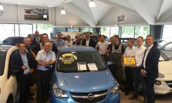 Driessen Opel Valkenswaard wint Runner Up Award!